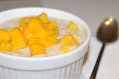 Chia Seed Mango Pudding