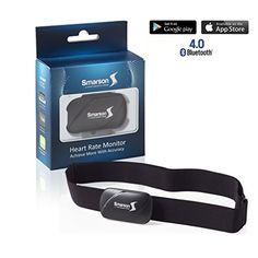 Smarssen Portable Bluetooth Heart Rate Monitor iOS and Android Compatible -- Check out the image by visiting the link. (Note:Amazon affiliate link)