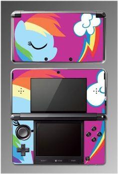 My Little Pony Friendship is Magic Rainbow Dash Cartoon Video Game Vinyl Decal Skin Cover Protector for Nintendo 3DS , http://www.amazon.com/dp/B00FN5G1UA/ref=cm_sw_r_pi_dp_91Jwub0HF3FA2