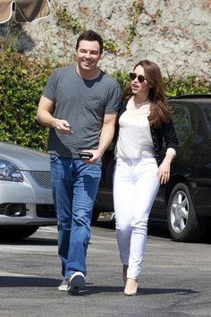 Emilia Clarke - Seth MacFarlane and Emilia Clarke Out Together