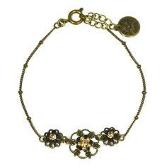 JJ Caprices - Charming Flower Bracelet by Eric et Lydie