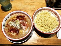 [I ate] Spicy garlic dipping noodles (Tsukemen)