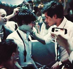 This was a sick movie, a terrible influence for angtsy teens to mimick. But I won't deny that this kiss was magical Cute Relationships, Relationship Goals, Cute Love, Cute Guys, Tumblr Gay, Cute Gay Couples, Boyxboy, Gay Pride, Pretty Boys