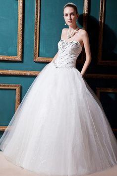 Wedding Dresses 2014, Cheap Prom Dresses, Cheap Wedding Dress, Tulle Wedding, Gown Wedding, Tulle Ball Gown, Ball Gowns, Tea Length Wedding Dress, One Shoulder Wedding Dress
