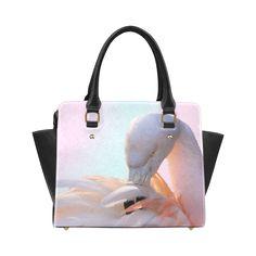 Pink Flamingo Pink Classic Shoulder Handbag. FREE Shipping. #artsadd #bags #flamingos