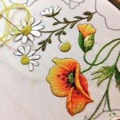 Maczek...#DMC#embroidery#handemade#haft#rękodzieło#