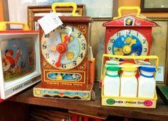 The clocks..