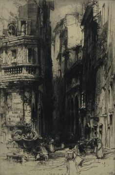 Giovanni Battista Piranesi The Roman antiquities Gothic Drawings, Art Drawings, Art Sketches, Landscape Pencil Drawings, Etching Prints, Cityscape Art, Charcoal Art, A Level Art, Urban Sketching