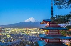 Chureito Pagoda, Yamanashi.