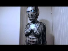 Biomechanical Iron Maiden Cosplay – Roustan BodypaintI Love Body Art | I Love Body Art