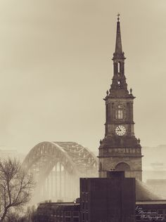 Mist over the Tyne