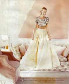 big skirt. Super cute.