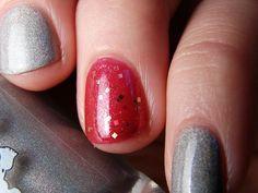 The Philosopher's Stone - Custom Harry Potter Inspired Red Nail Polish
