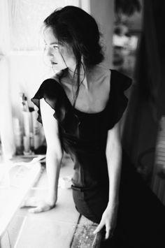 Le Noir et Blanc en Photo, notamment en portrait, est un luxe glamour !