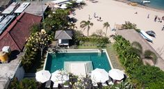 The Segara Suites Nusa Dua The Segara Suites is a beachfront apartment building located along Seaside Tanjung Benoa Beach in Nusa Dua. Just a 2-minute walk from water sports activities, the hotel offers an outdoor pool and modern suites with kitchenettes.