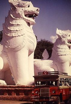 burma mandalay lions bus Also find us at http://instagram.com/mightytravels