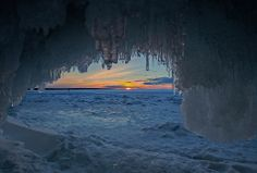 Ice caves at apostle islands | Photos: Inside the majestic Lake Superior ice caves | MPR News Photos ...