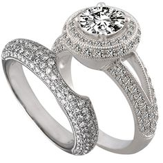 Custom-Fitted Bands by http://www.engagediamonds.com/