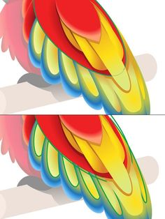 How to Create a Colorful Parrot using Gradients in Adobe Illustrator - Tuts+ Design & Illustration Tutorial