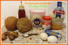 Ingredientes Coconete Dominicano