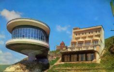 Севан озеро, Армянская ССР. Дом писателей