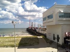 Different view of the Steel Pier