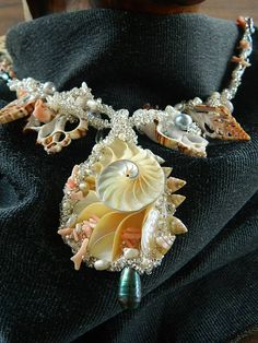 A necklace for a mermaid by Ginger Sizemore