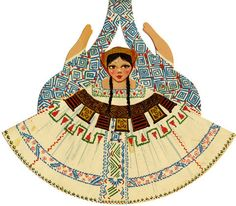 mexican paper doll
