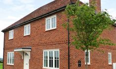 Regency Orange and Farmhouse Orange traditional handmade bricks feature across this charming countryside development by Rectory Homes. New Property, Red Bricks, House Made, Countryside, Bridge, Farmhouse, Homes, Traditional, Detail