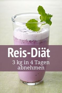 Rice diet: lose in 4 days - Reis-Diät: in 4 Tagen verlieren Rice is an ideal slimming product – especially whole grain rice - Health Diet, Health And Nutrition, Healthy Food List, Healthy Eating, Whole Grain Rice, Fat Burning Drinks, Le Diner, Chia Pudding, Calorie Diet