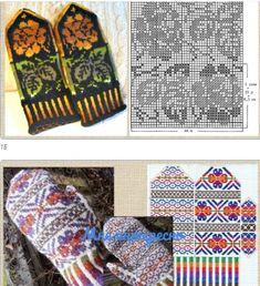 Knitted Mittens Pattern, Knitting Socks, Knitted Hats, Gloves, Crochet, Knitting And Crocheting, Tricot, Knit Socks, Ganchillo