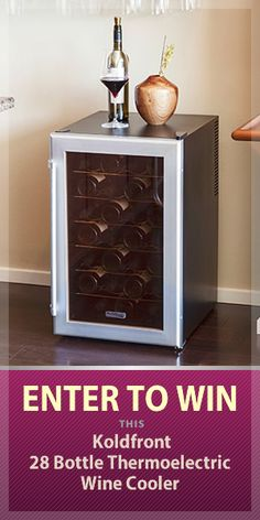 Want to win Koldfront 28 Bottle Wine Cooler? I just entered to win and you can too. http://gvwy.io/eo1istw