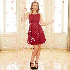 Disney's Minnie Rocks the Dots a Collection by LC Lauren Conrad Look 1