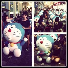 Doraemon....EVERYWHERE LOL! #doraemon #hongkong  #hk - @tiffiesiu- #webstagram