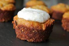 Flour-less Coconut Butter Banana Muffins Recipe