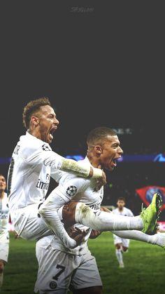 Zdjęcia Neymar i Kylian Mbappe Best Football Players, National Football Teams, Soccer Players, Mbappe Psg, Neymar Psg, Neymar Jr Wallpapers, Paris Saint Germain Fc, Neymar Brazil, Neymar Football