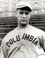 A young Lou Gehrig. Hard not to like this guy, even though he's a Yankee.