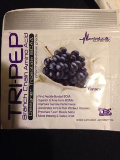 Supplement Review: Tri-Pep BCAA's – designer tripeptide BCAA by Metabolic Nutrition | louisjbianco