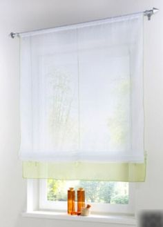 Cortina de cocina en visillo bordado instalada y - Comprar cortinas para cocina ...
