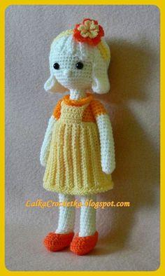 Lalka Crochetka: Lalka Julka ... Julka doll