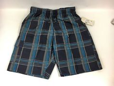 NWT American Legend Outfitters Plaid Men's Swim Shorts Trunks Size L  | eBay
