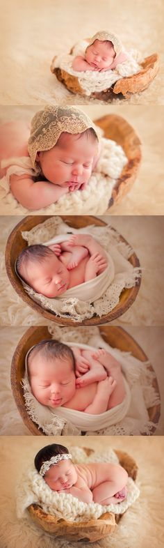 Erin Tole newborns wood bowls