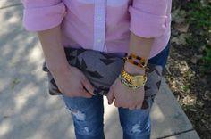 Love the watch, bracelets, nails, purse... Just love it.