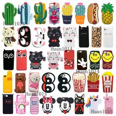- Cute Animals Plant Cartoon Soft Silicone Case Cover Back Skin For Iphone Iphone 5s Covers, Iphone Cases Cute, Diy Phone Case, Iphone Phone Cases, Phone Cover, Apple Iphone, Hello Kitty Cartoon, Barbie Doll Accessories, Phone Accessories