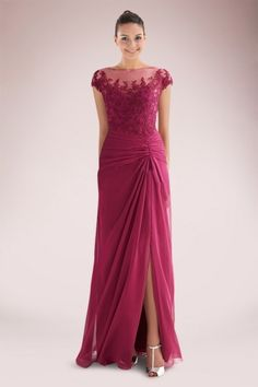 immortal-chiffon-column-mother-of-bride-dress-with-beautiful-appliques-and-slit