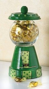Craft Ideas : Projects : Details : pot-o-gold-candydish