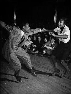 USA. New York City. Harlem. 1939. Savoy Ballroom Cornell Capa © International Center of Photography