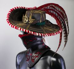 Witch hunter head gear by Valimaa on deviantART