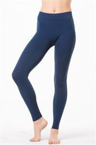Seamless Long Leggings Plus Size O/S