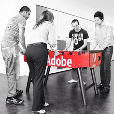 Fun fuels creativity at Adobe! Check out how Adobe employees work hard and play harder  http://adobe.ly/fun #adobelife